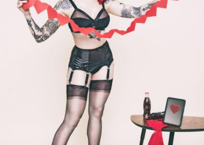 Pin-up boudoir by SVP Photography
