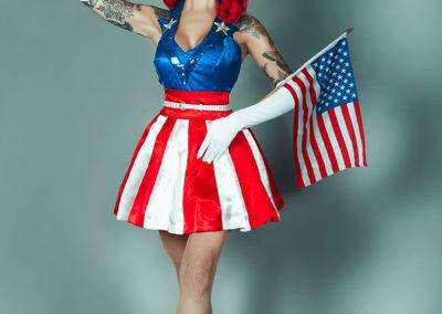 USO girl by V's Anchor Studio